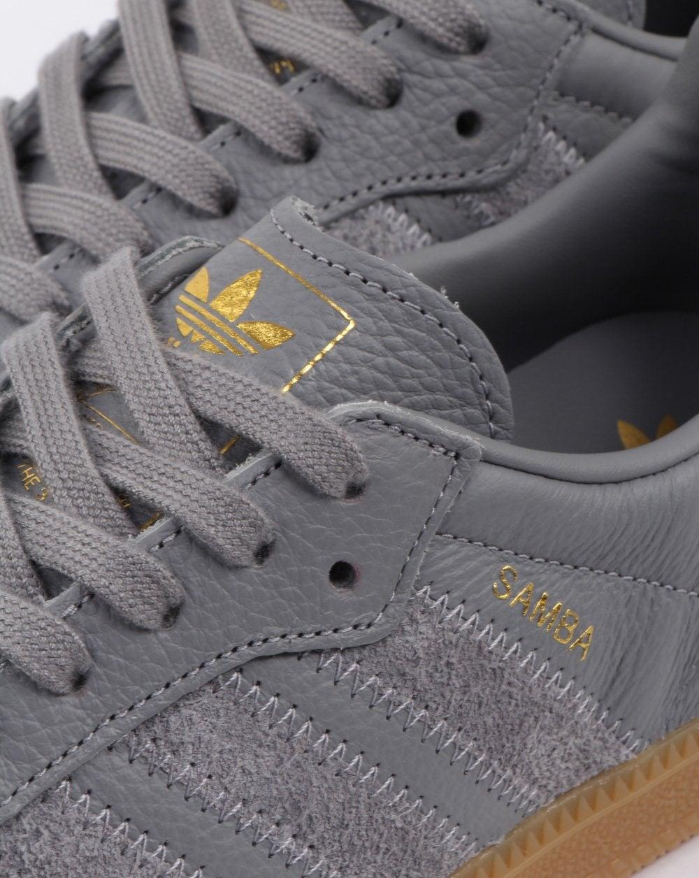 Adidas Samba Og Trainers Grey, Leather