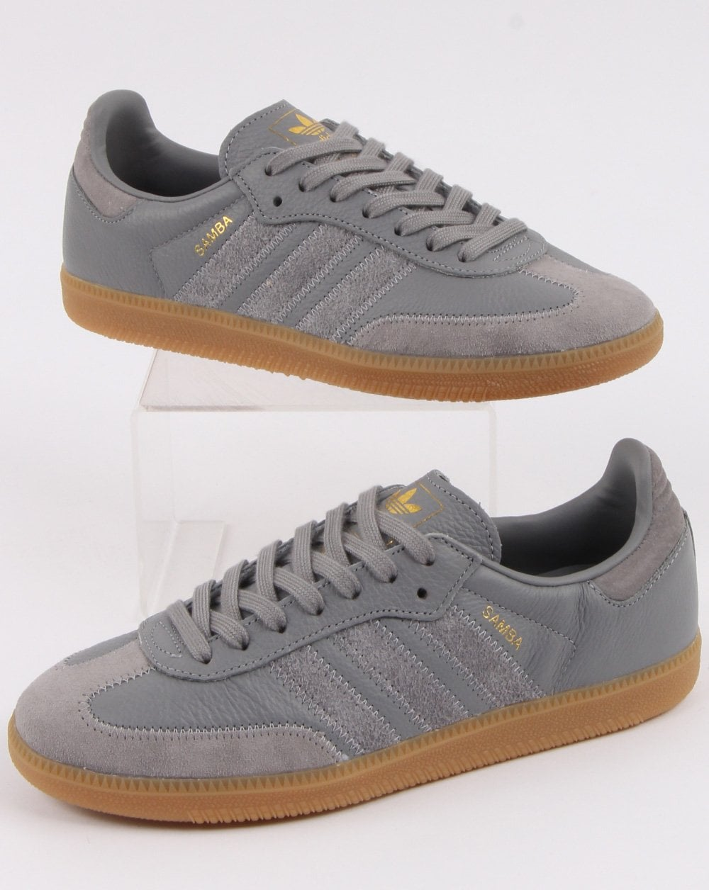 Adidas Samba Og Ft Trainers Grey