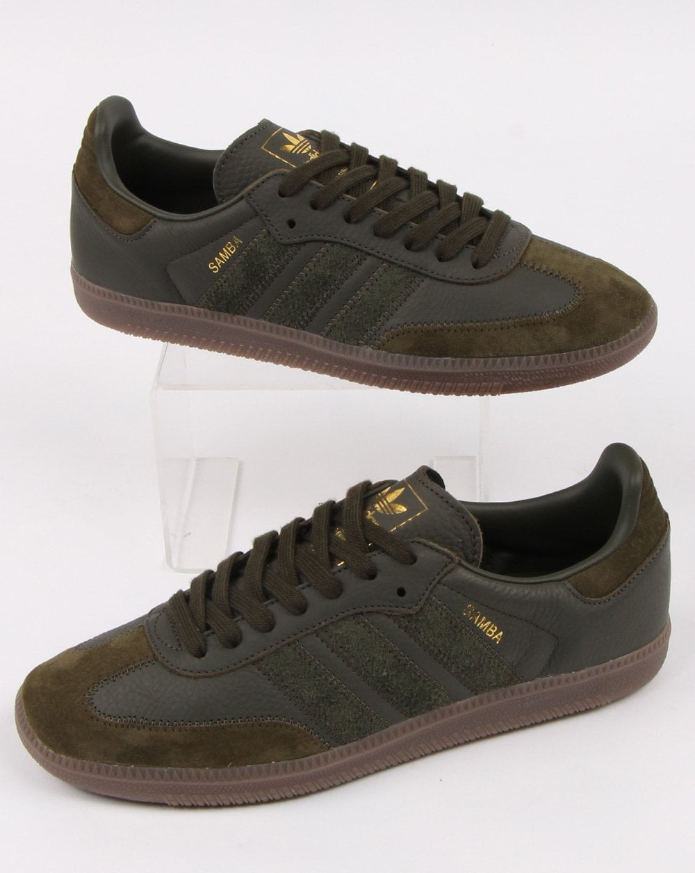 check out 60c2d 5e1bf Adidas Samba Og Ft Trainers Night Cargo