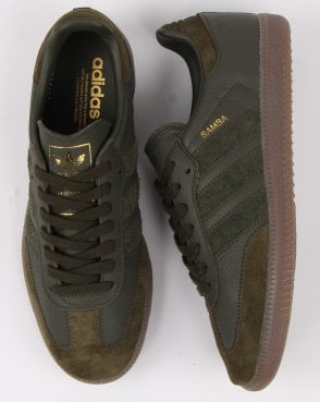 a79a45ffb5a5 adidas Trainers Adidas Samba Og Ft Trainers Night Cargo