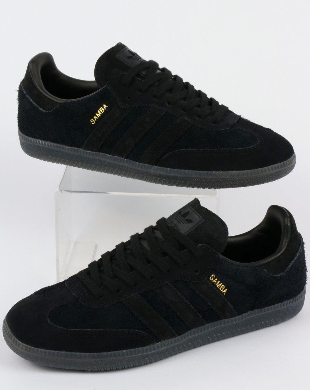 Adidas Samba OG Trainers BlackCarbon