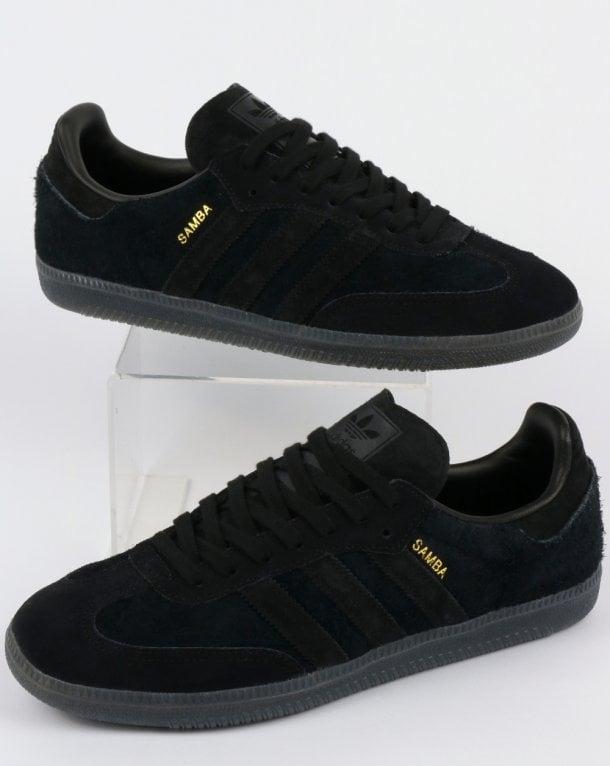 762b21a664bc7a switzerland adidas samba adv shoe black white gold bonkers 582fa 20282  buy  adidas samba og trainers black carbon f299c 18fda