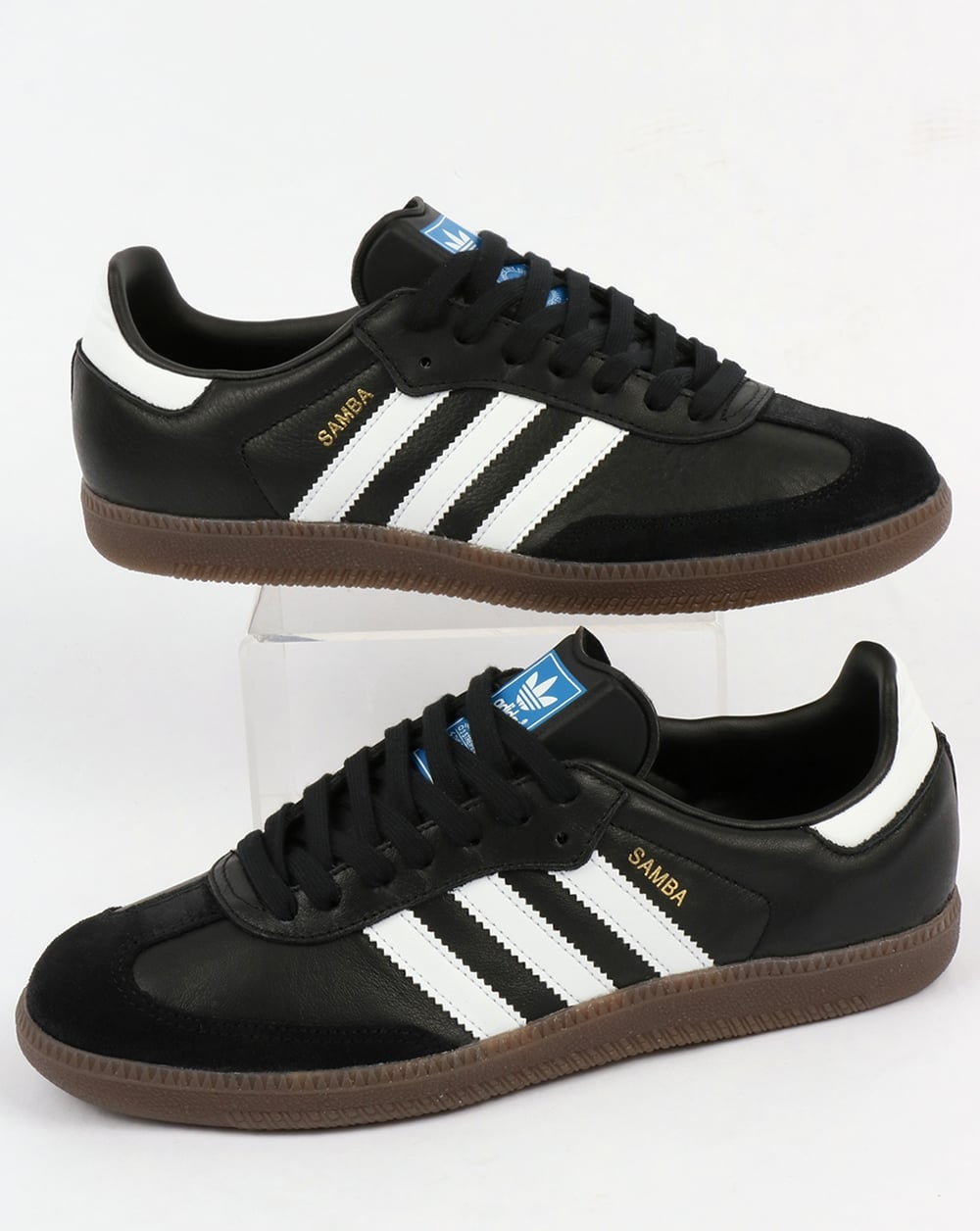 Adidas Samba Trainers Black/White D19p8015