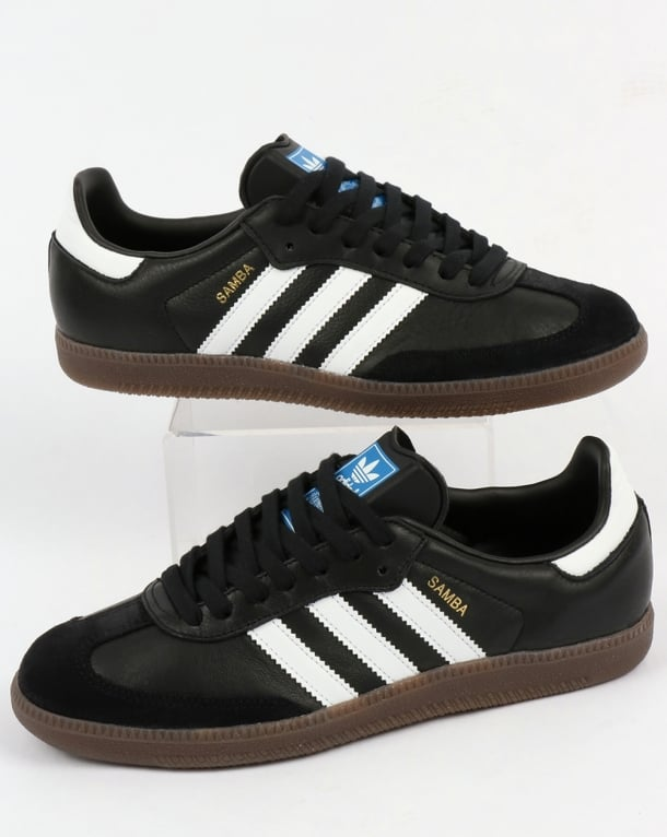 Adidas Samba OG Trainers Black/White/Gum
