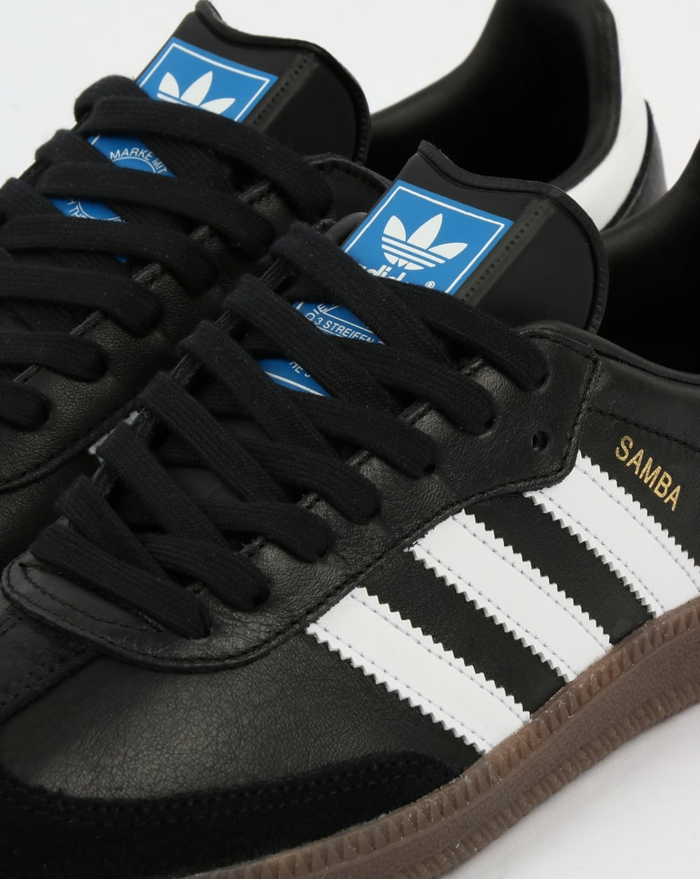 2460c8e5b Adidas Samba OG Trainers Black/White/Gum | 80s casual classics
