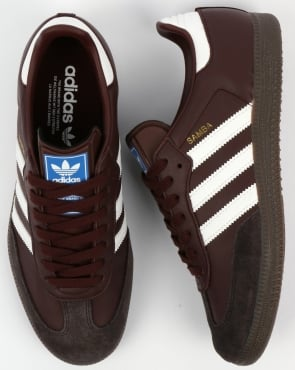 Adidas Samba OG Trainers Mystery Brown