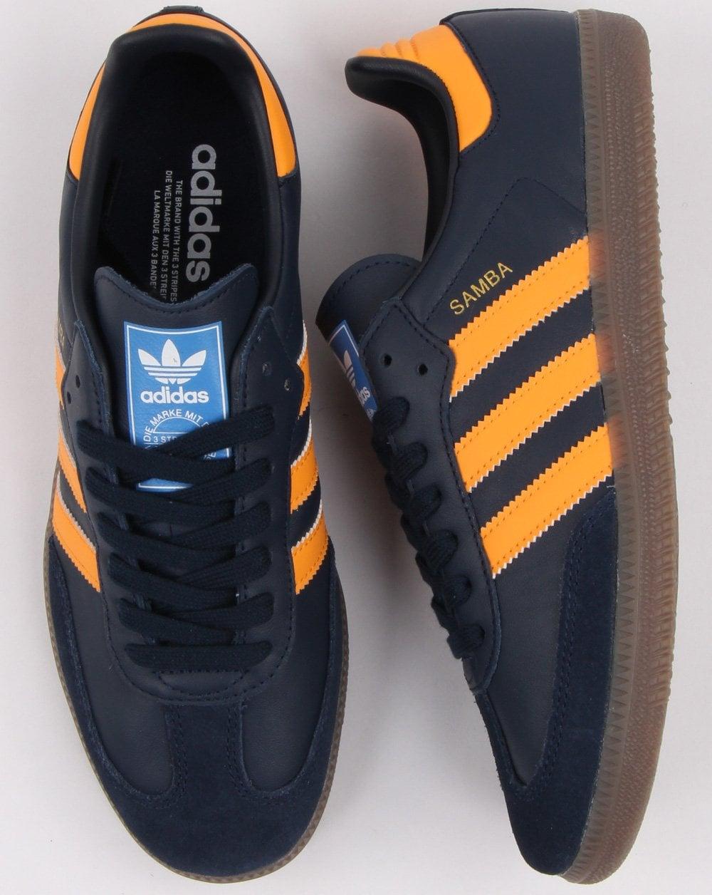 Adidas Scarpe Sneakers Samba Og Ft Navy Modernist Shop