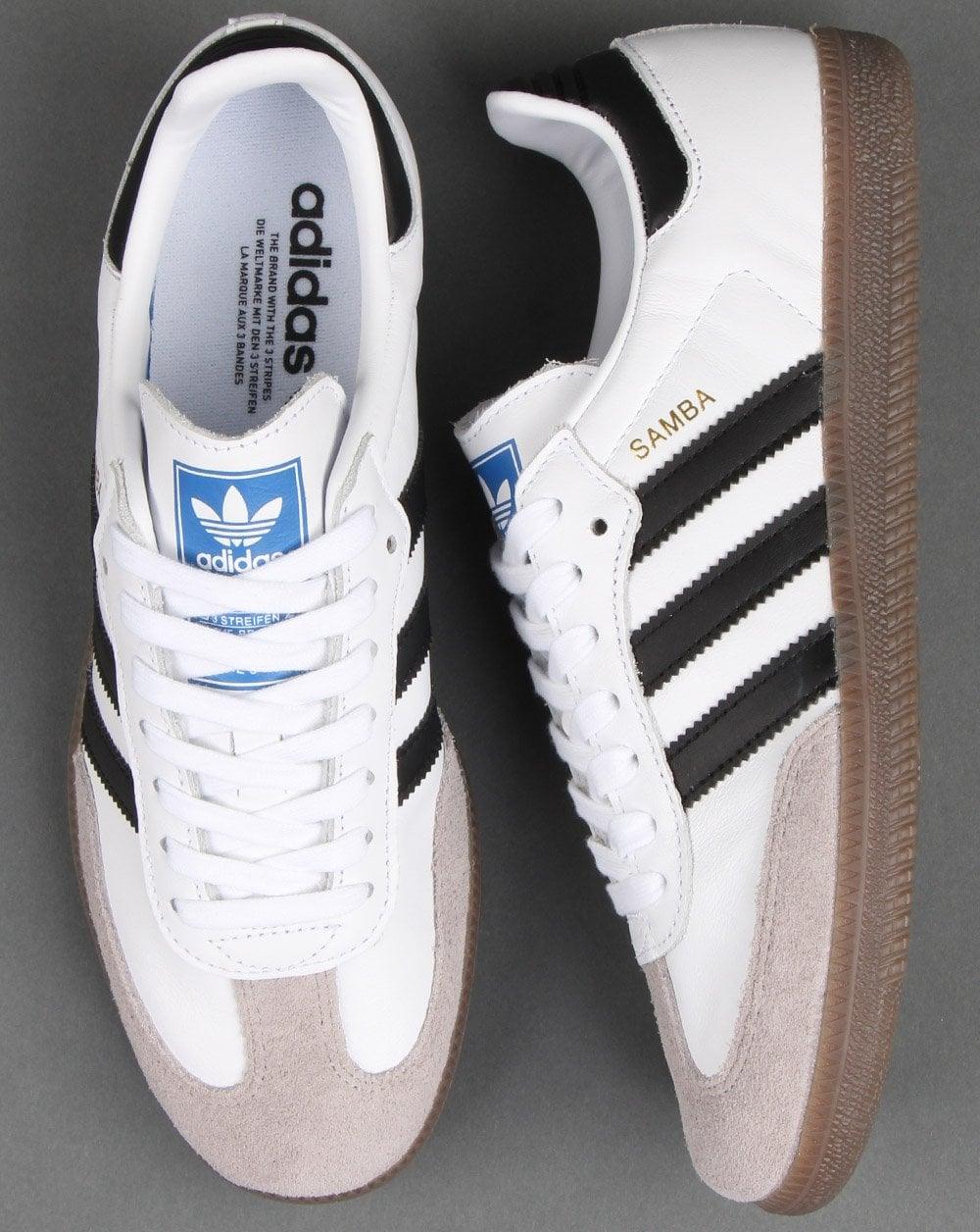 Adidas Samba OG Trainers White, Black