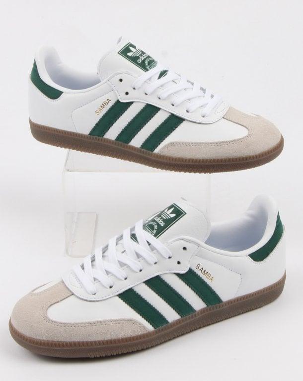 3023bb7d04ff03 adidas Trainers Adidas Samba Og Trainers White collegiate Green