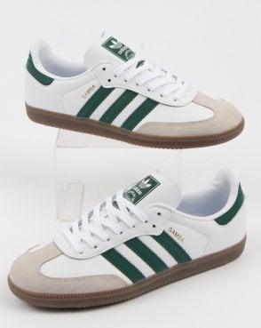 7c2721fb09cc adidas Trainers Adidas Samba Og Trainers White collegiate Green