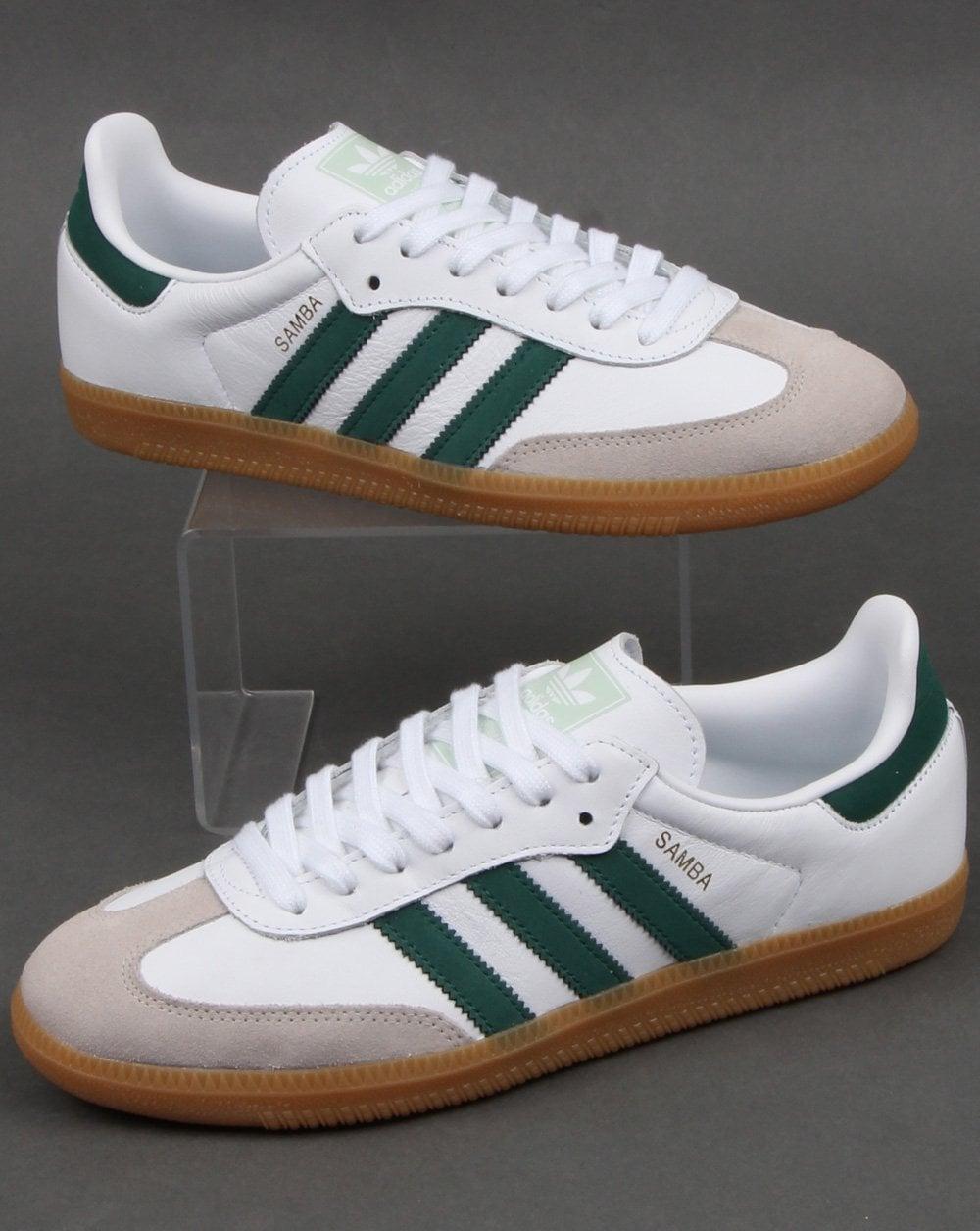 Adidas Samba Og Trainers White/Vapour