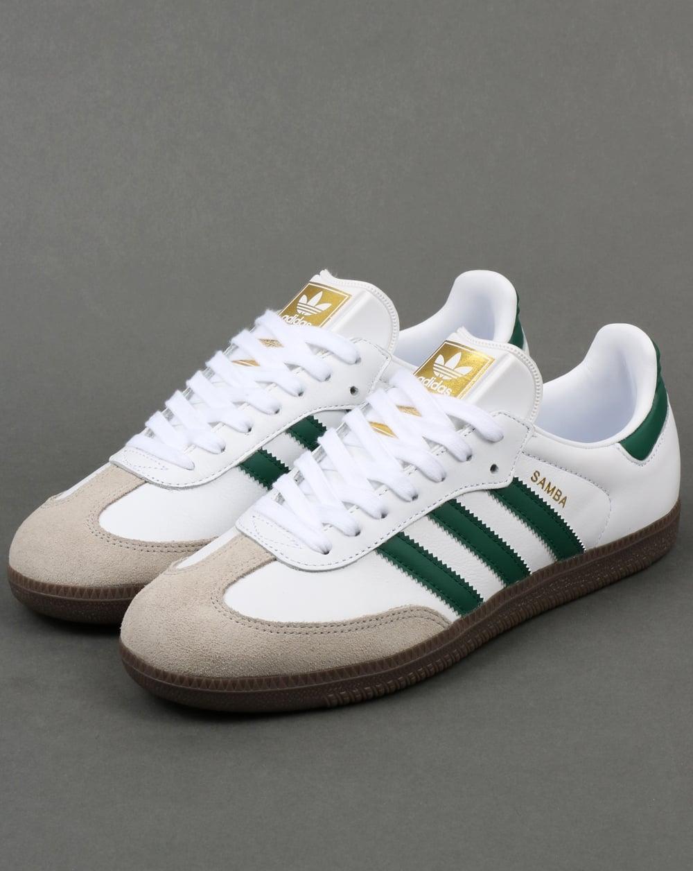 6d2554949a49 Adidas samba white green   Actual Store Deals