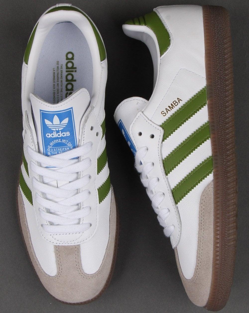 Adidas Samba Og Trainers WhiteGreen