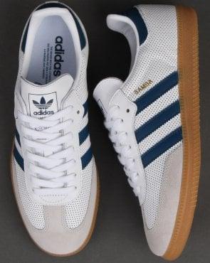 29a00d7c6 adidas Trainers Adidas Samba Og Trainers White/legend Marine