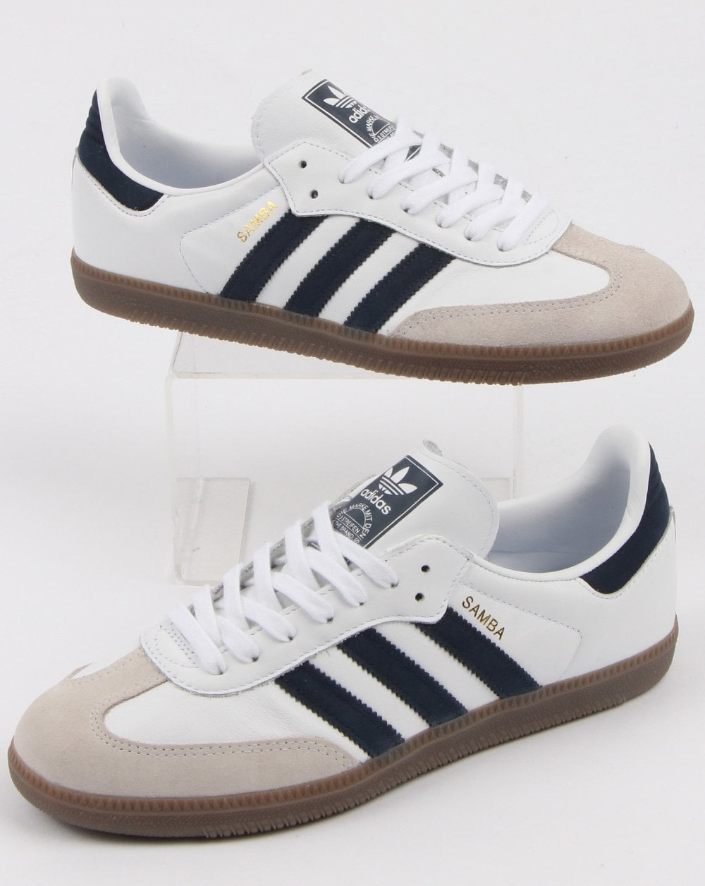 f1c6331a890925 adidas Trainers Adidas Samba Og Trainers White navy