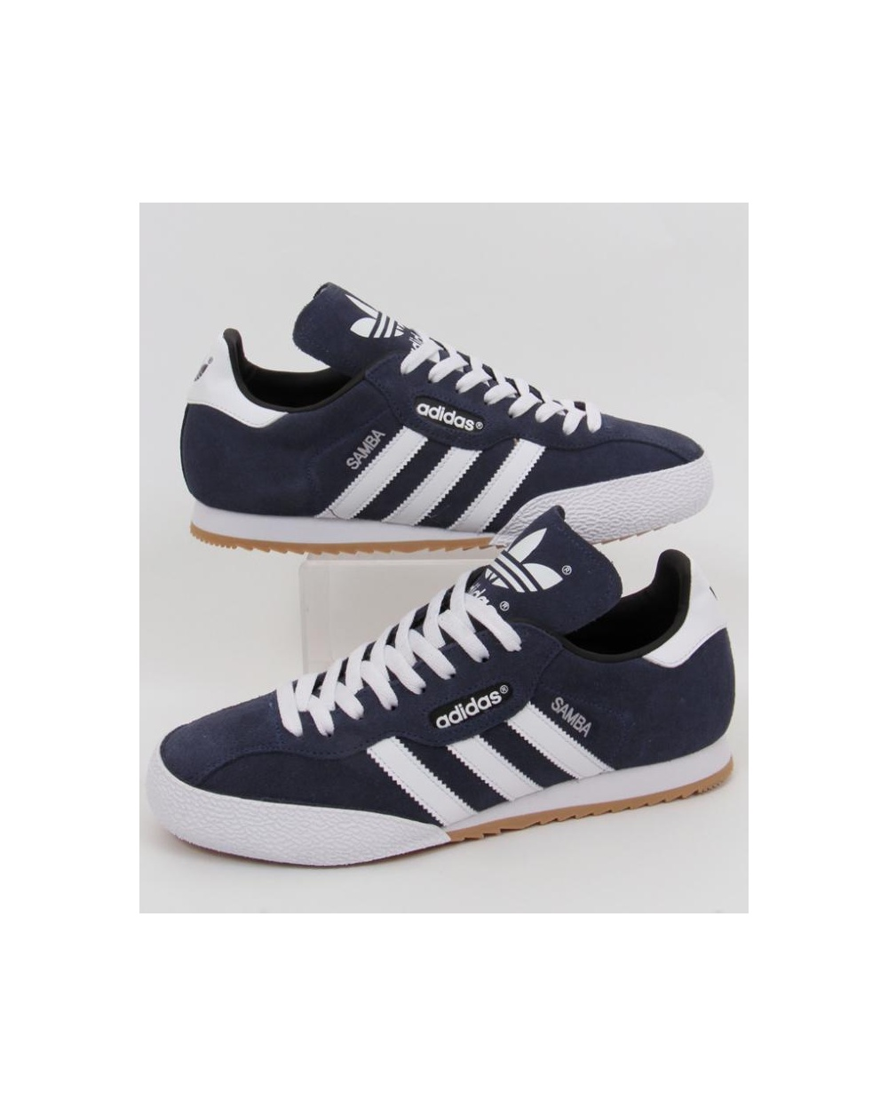 Navywhite Suede Super Trainers Adidas Samba A3q45ScLRj