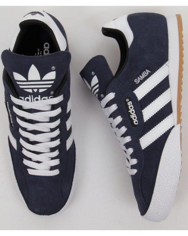 Adidas Samba Super Suede Trainers Navy