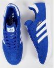 Adidas Samba Trainers Bold Blue/White