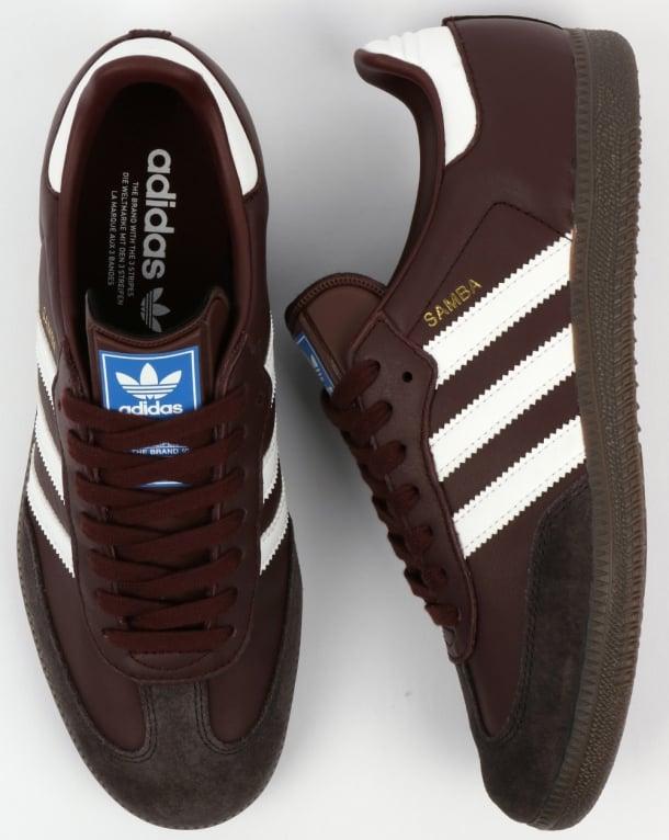 c015ba49f347c wholesale adidas samba trainers mystery brown e7aa9 890fa