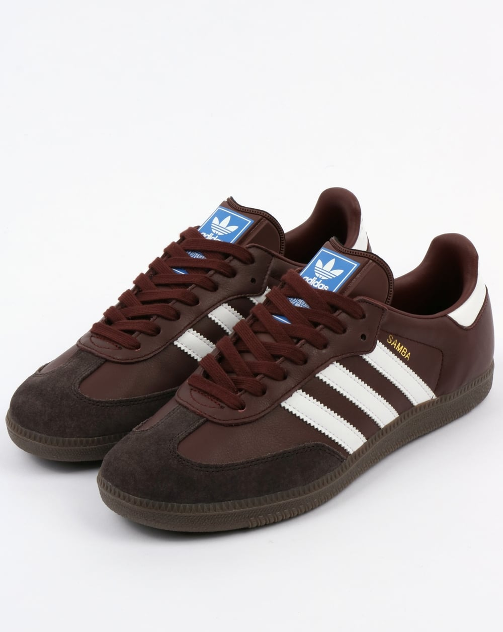 Adidas Samba Trainers Mystery Brown