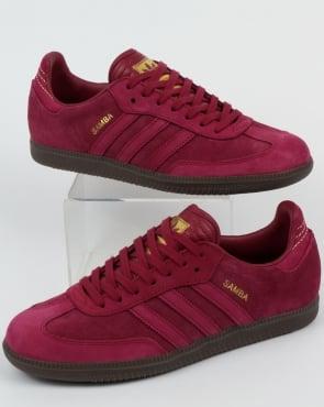 adidas Trainers Adidas Samba Trainers Mystery Ruby