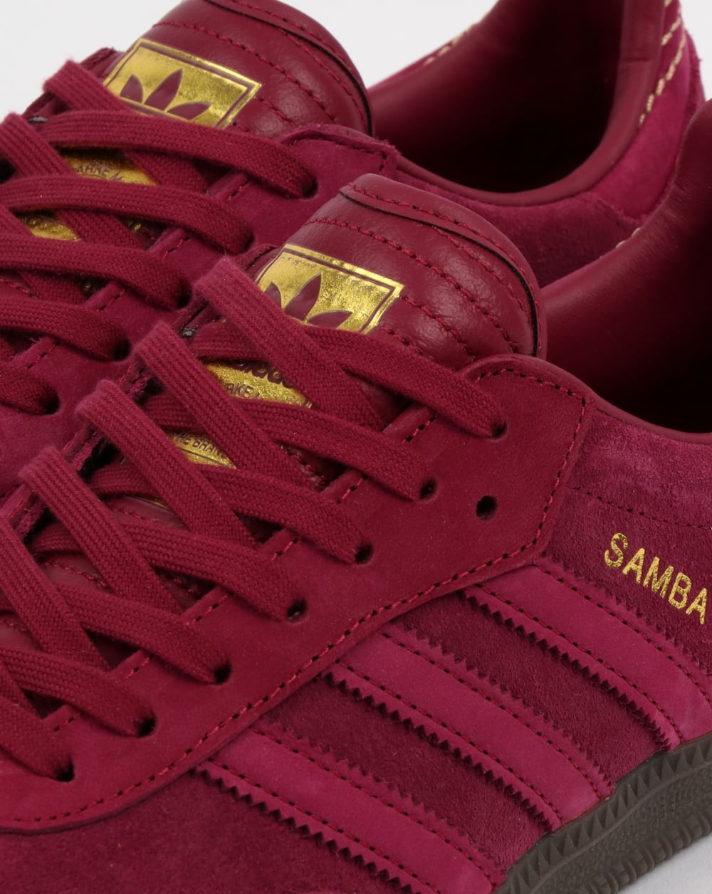 red adidas samba trainers cheap online