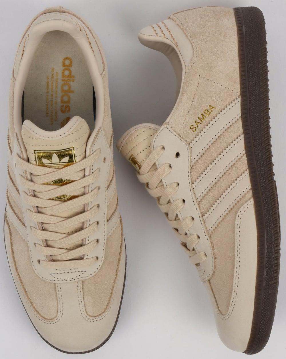 Adidas Samba Trainers Vintage Stone df63312c527e