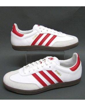 adidas samba red