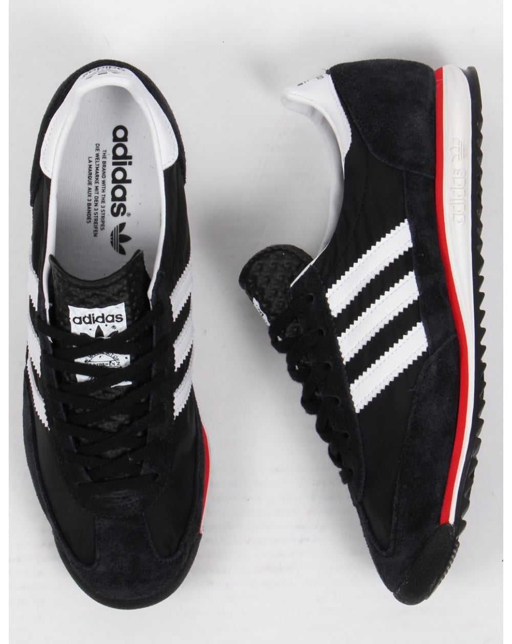 rhtjy Adidas Trainers Adidas Sl 72 Trainers Black/white/red - Adidas