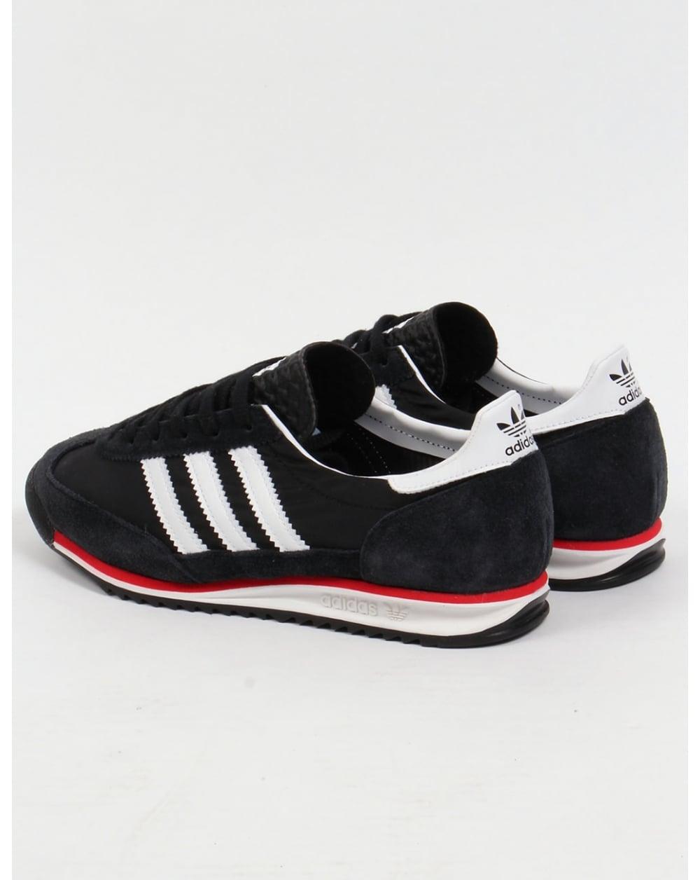 8f47bc19d1378 Adidas SL 72 Black White Red freelaptopswithmobilephones.co.uk