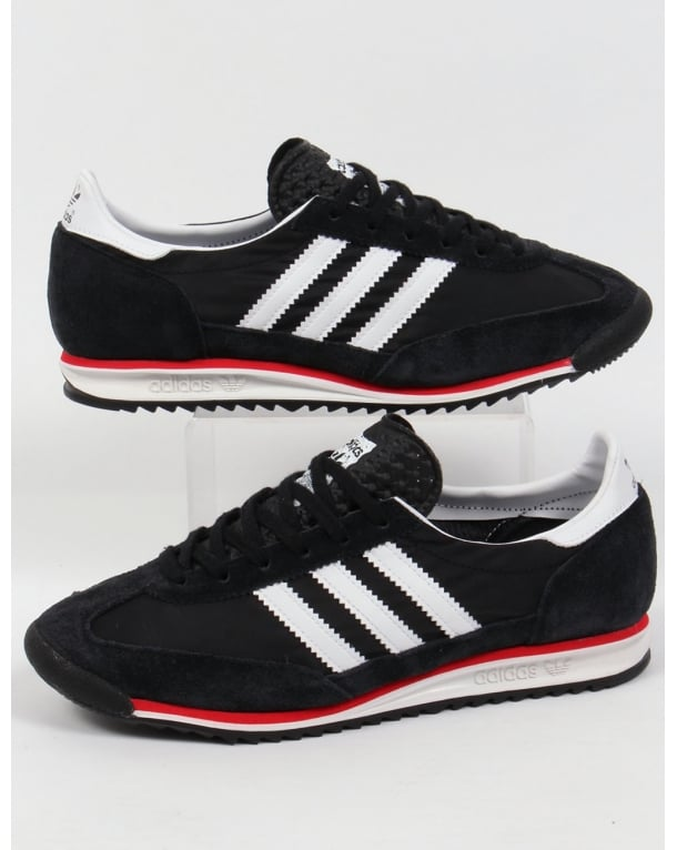 Adidas Sl 72 Trainers Black/white/red