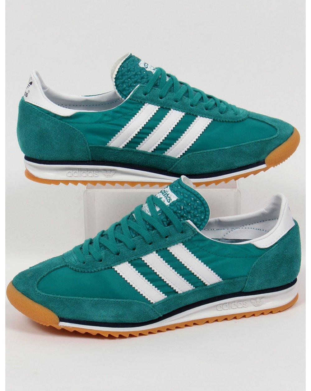 pretty nice 39585 79d3f Adidas Sl 72 Trainers Eqt Green/white