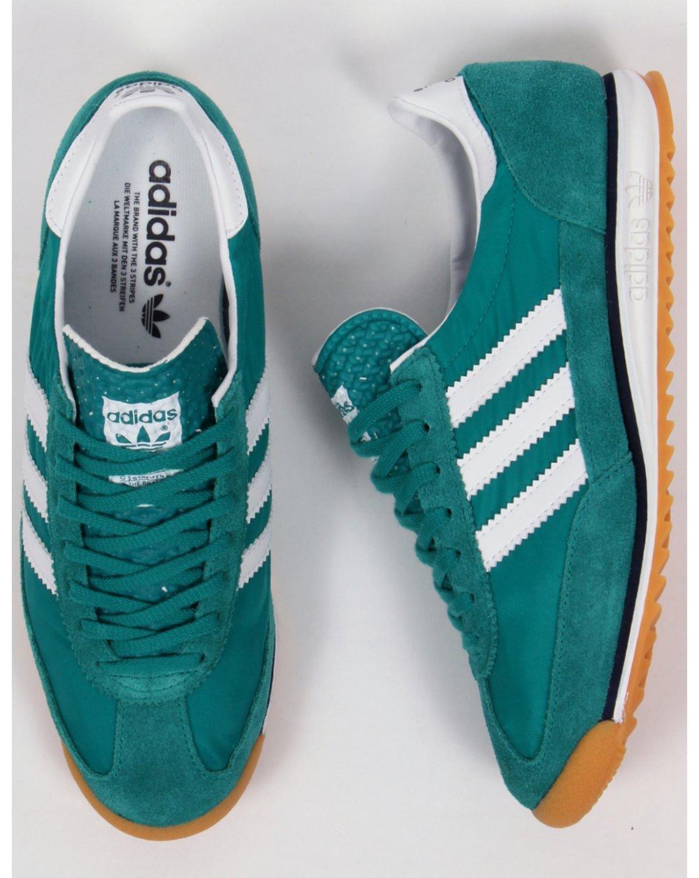 pas mal dba48 2bc5b Adidas Sl 72 Trainers Eqt Green/white