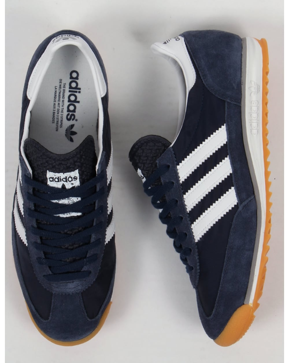 Black Blue Adidas Original Shoes