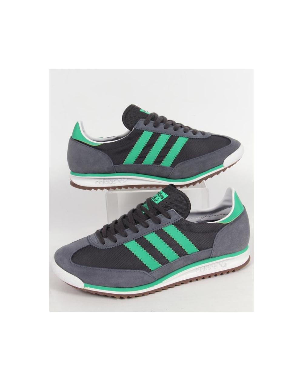 sports shoes 314e1 adfd8 ... order adidas sl 72 trainers onix grey surf green f4bac f745e
