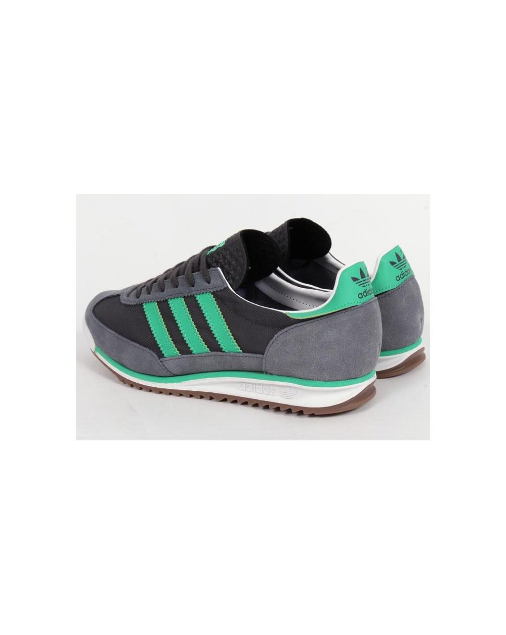 Adidas Sl 72 Trainers Onix Grey/surf Green