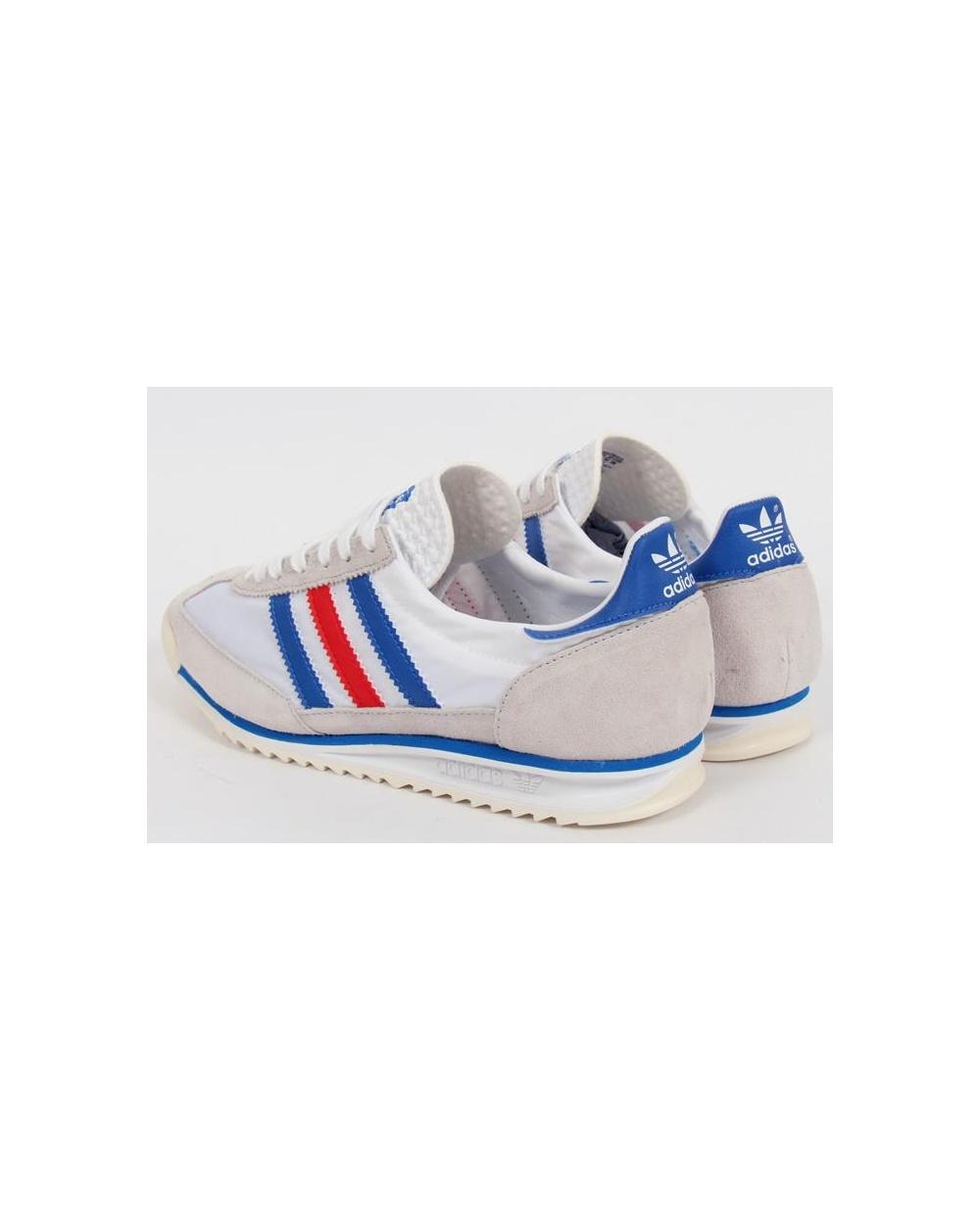 e679a5d951313 sl 72 white adidas sl 72 trainers white blue red p1188 9551_image