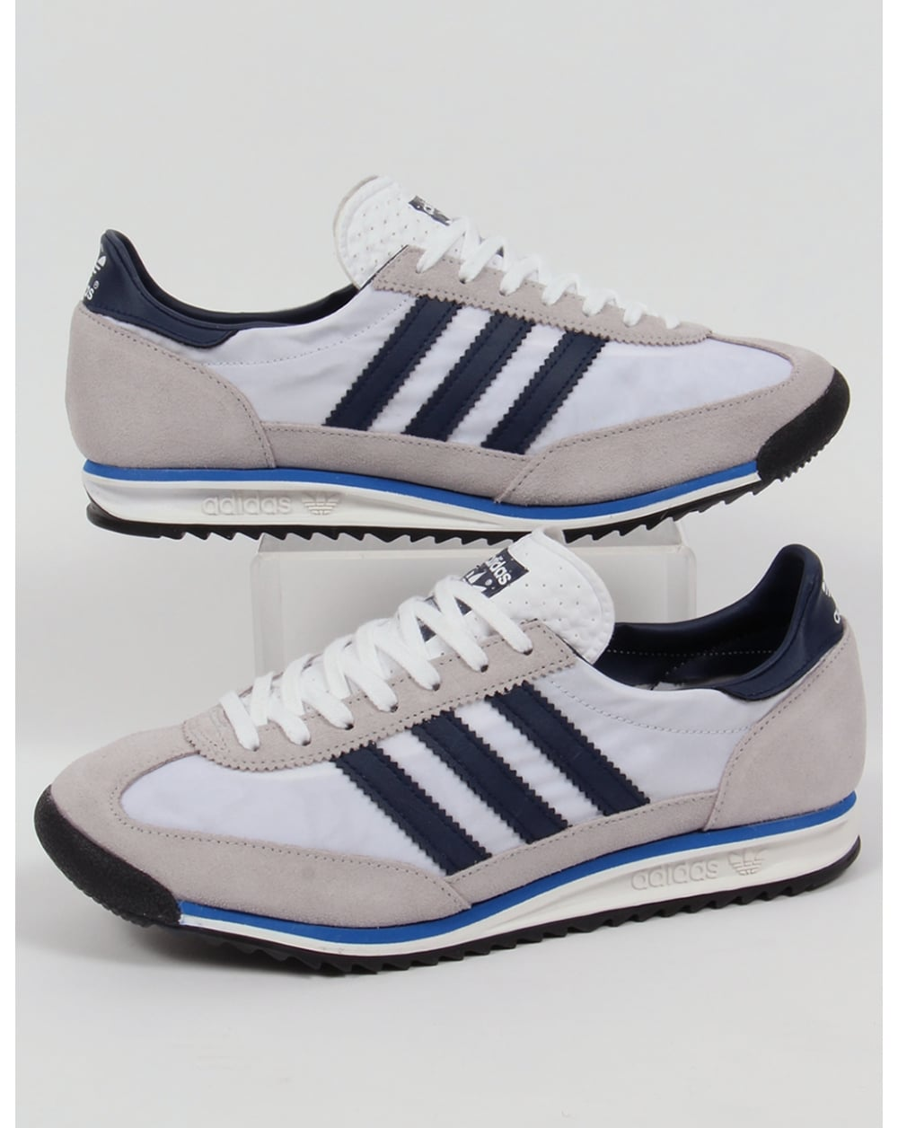 Adidas Sl 72 Trainers Whitenavyroyal