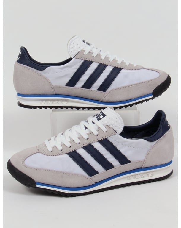 Adidas Sl 72 Trainers White/navy/royal