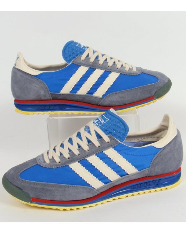 Adidas Sl 72 Vin Trainers Royal Blue/vintage Blue