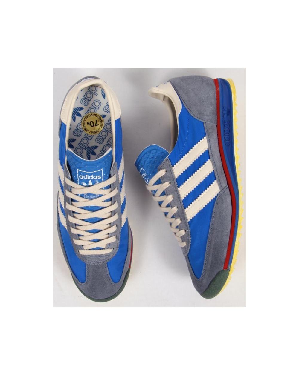 promo code 8be28 3331e Adidas Sl 72 Vin Trainers Royal Blue vintage Blue