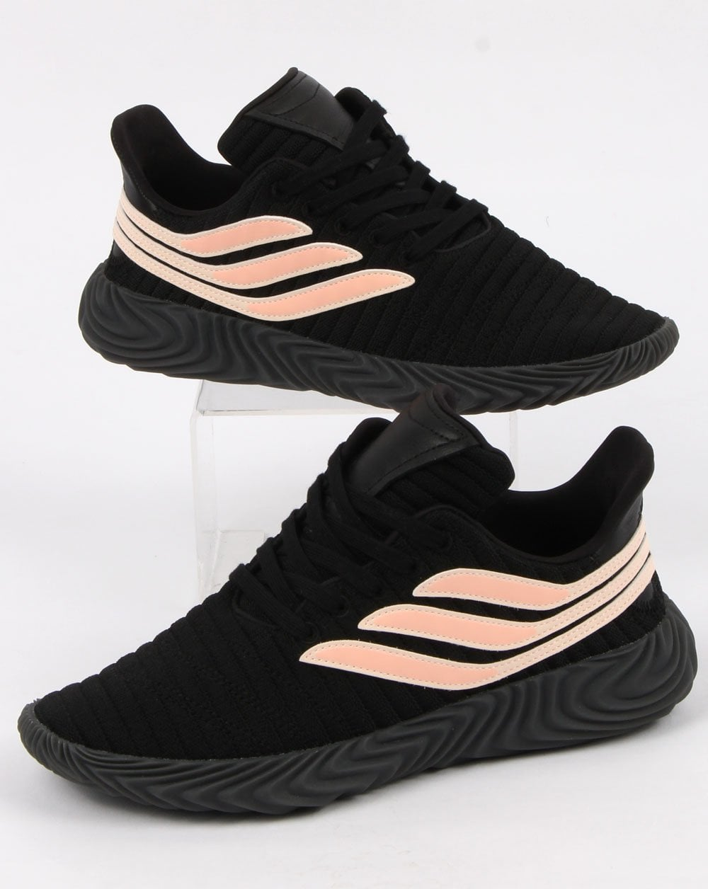 new product 4beaa 6d04e adidas Trainers Adidas Sobakov Trainers Black clear Orange