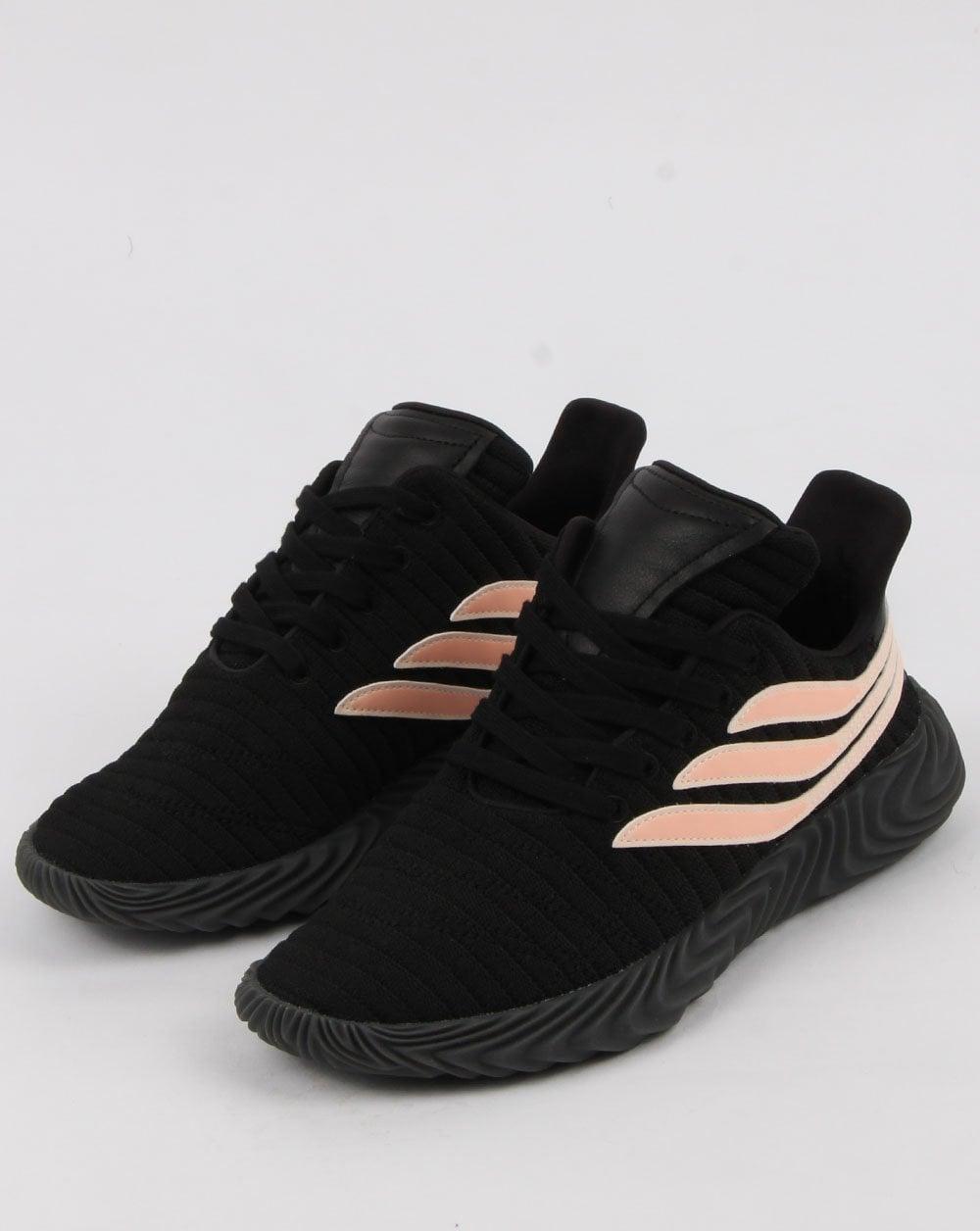 lowest price e3297 d804d Adidas Sobakov Trainers Black clear Orange