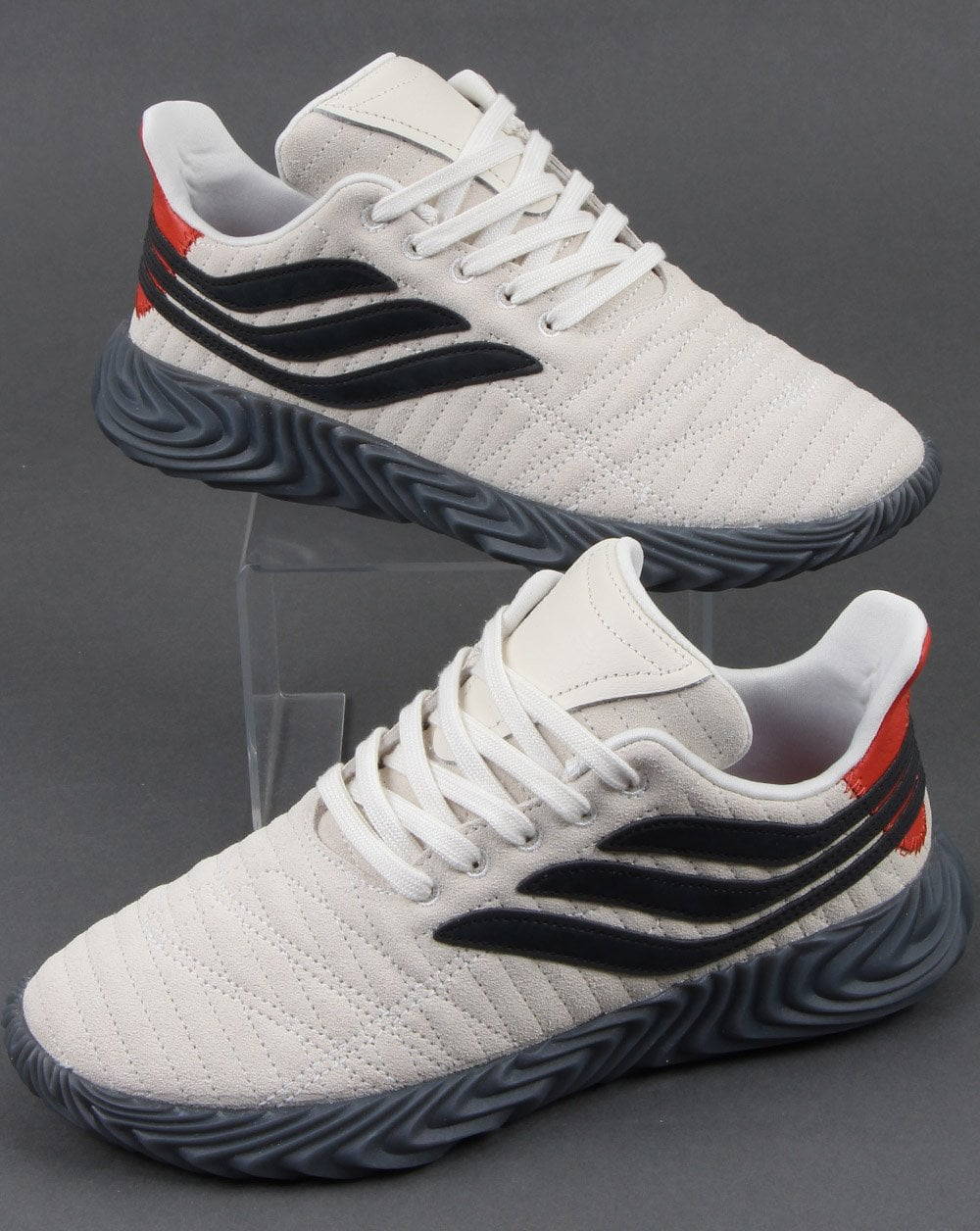 the best attitude b2533 d6aed adidas Trainers Adidas Sobakov Trainers Off White black
