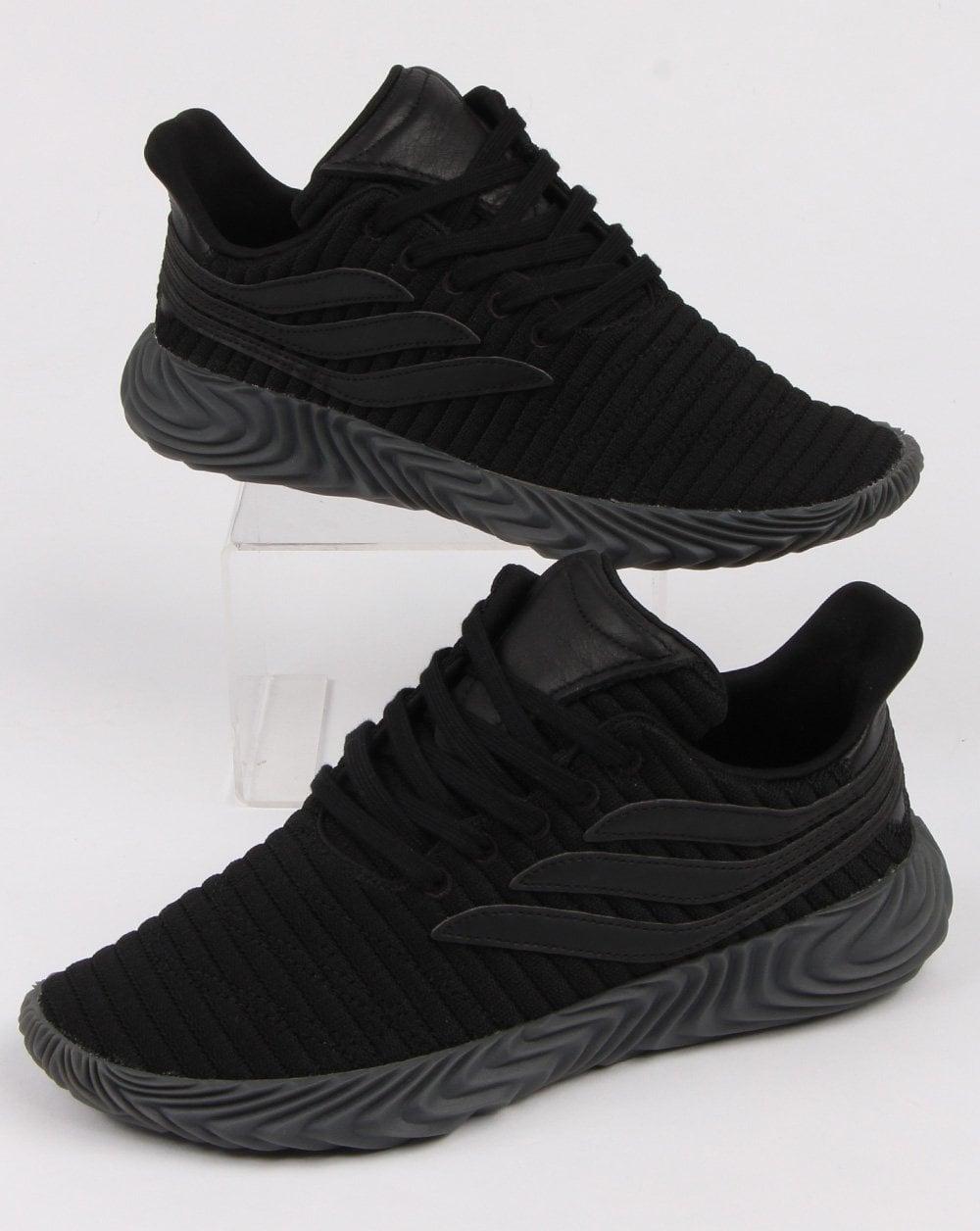 pretty nice 1a4af 41643 adidas Trainers Adidas Sobakov Trainers Triple Black