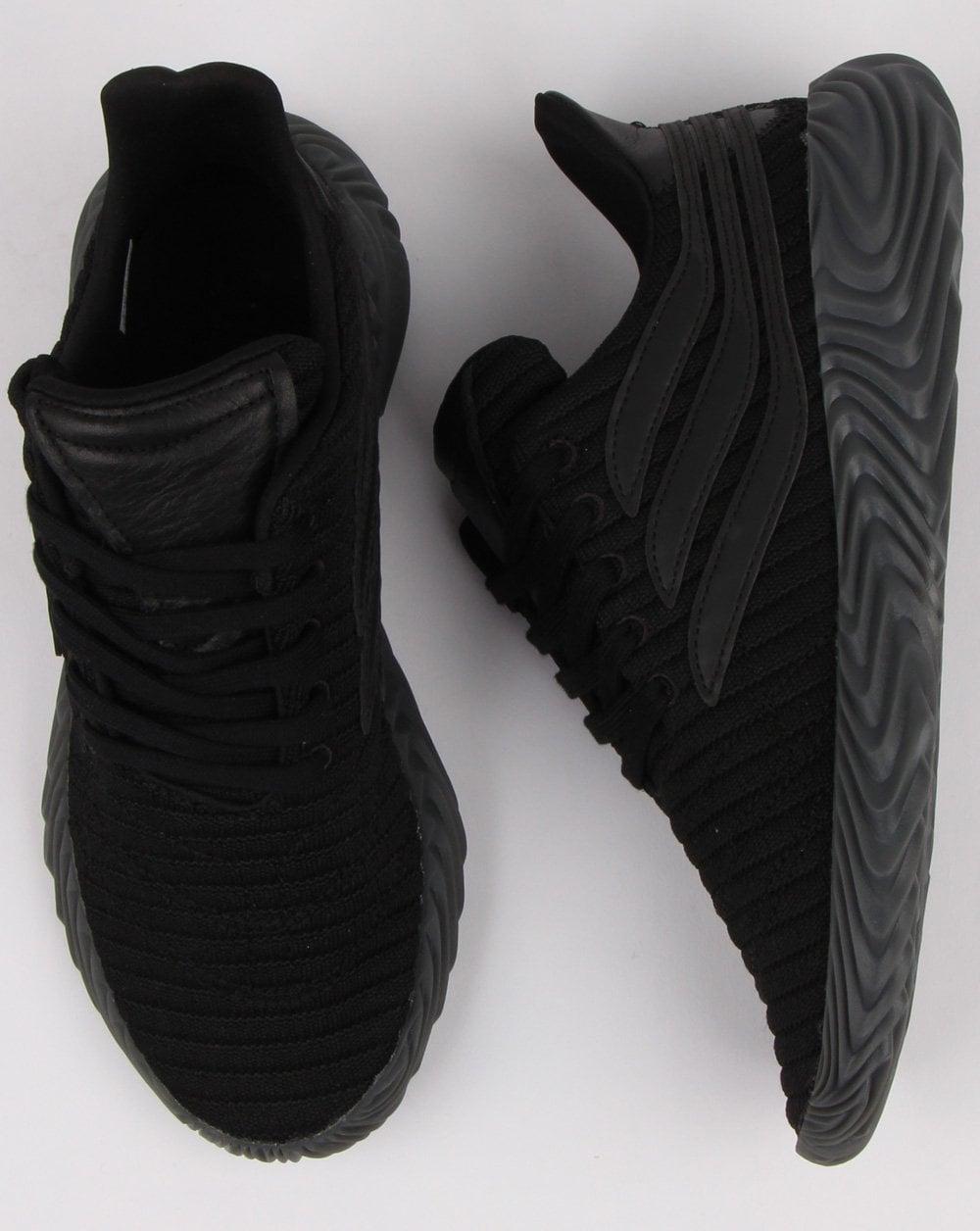 61e1c20fb42551 Adidas Sobakov Trainers, Black, Mens, Footwear, Trainers