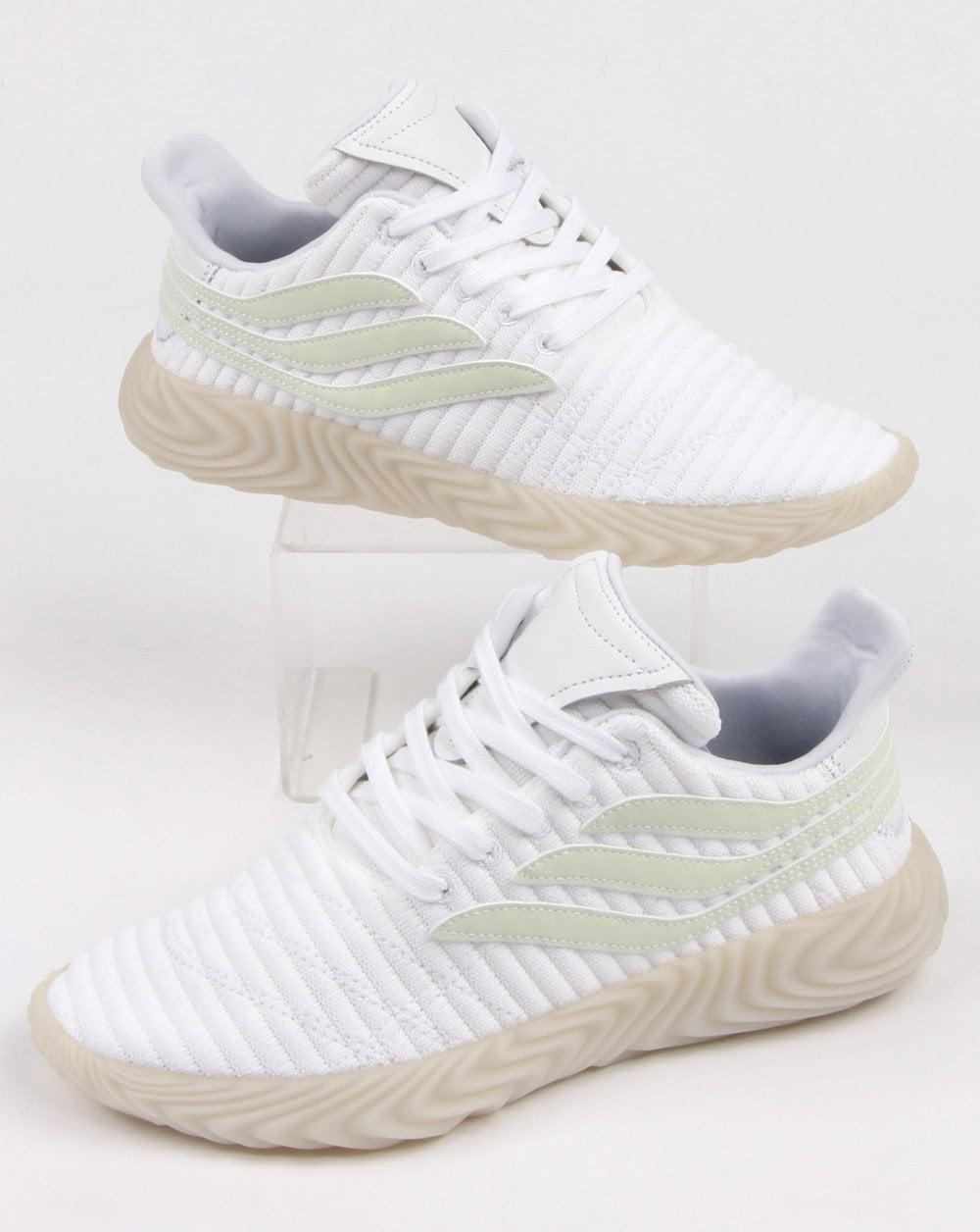 the best attitude f589c 1d84c adidas Trainers Adidas Sobakov Trainers White aero Green