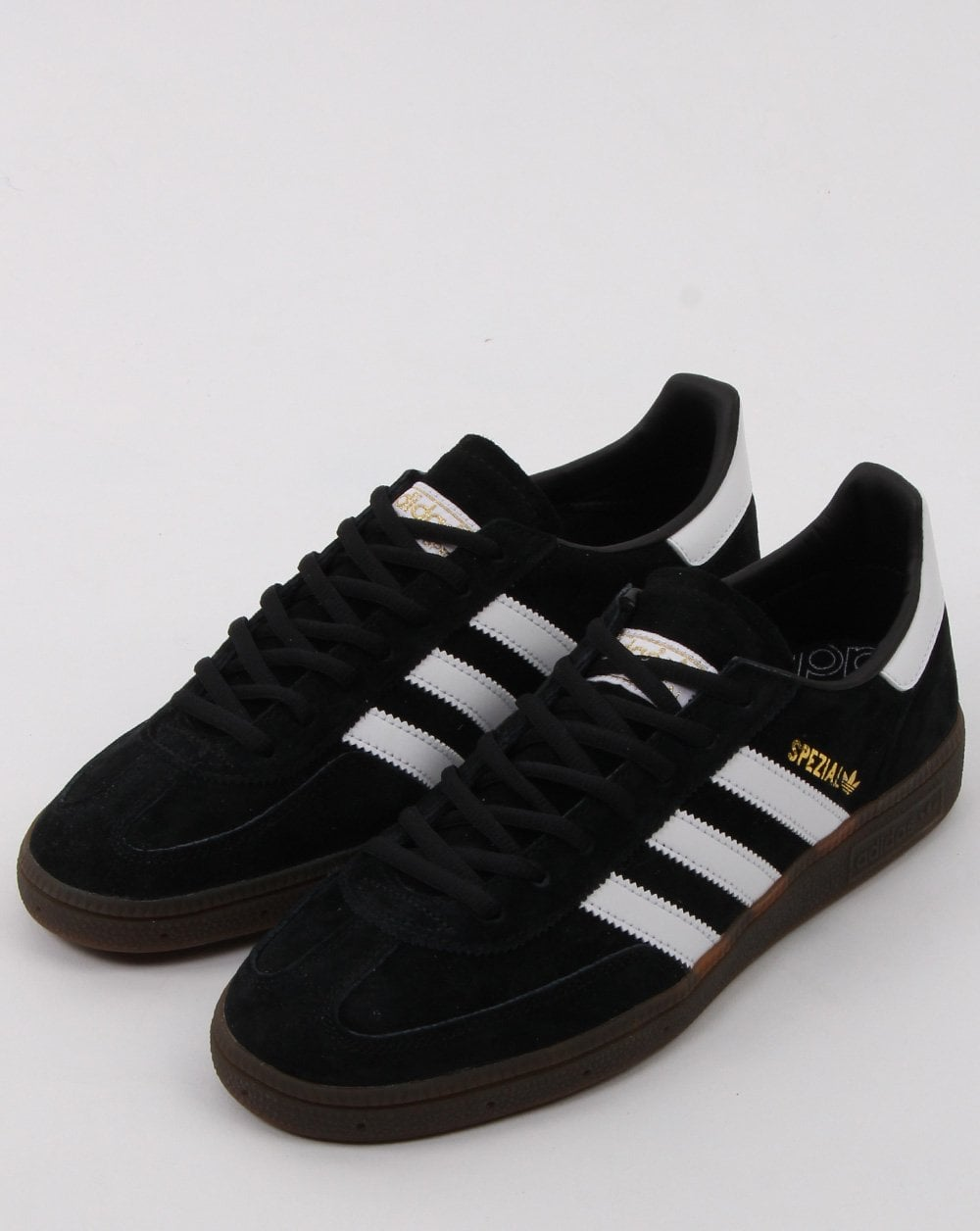 Adidas Handball Spezial Trainers Black White 80s Casual Classics