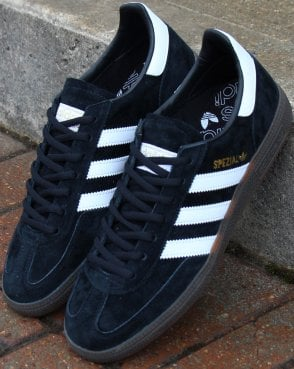 quality design 61134 fdc12 Adidas Spezial Trainers Black white