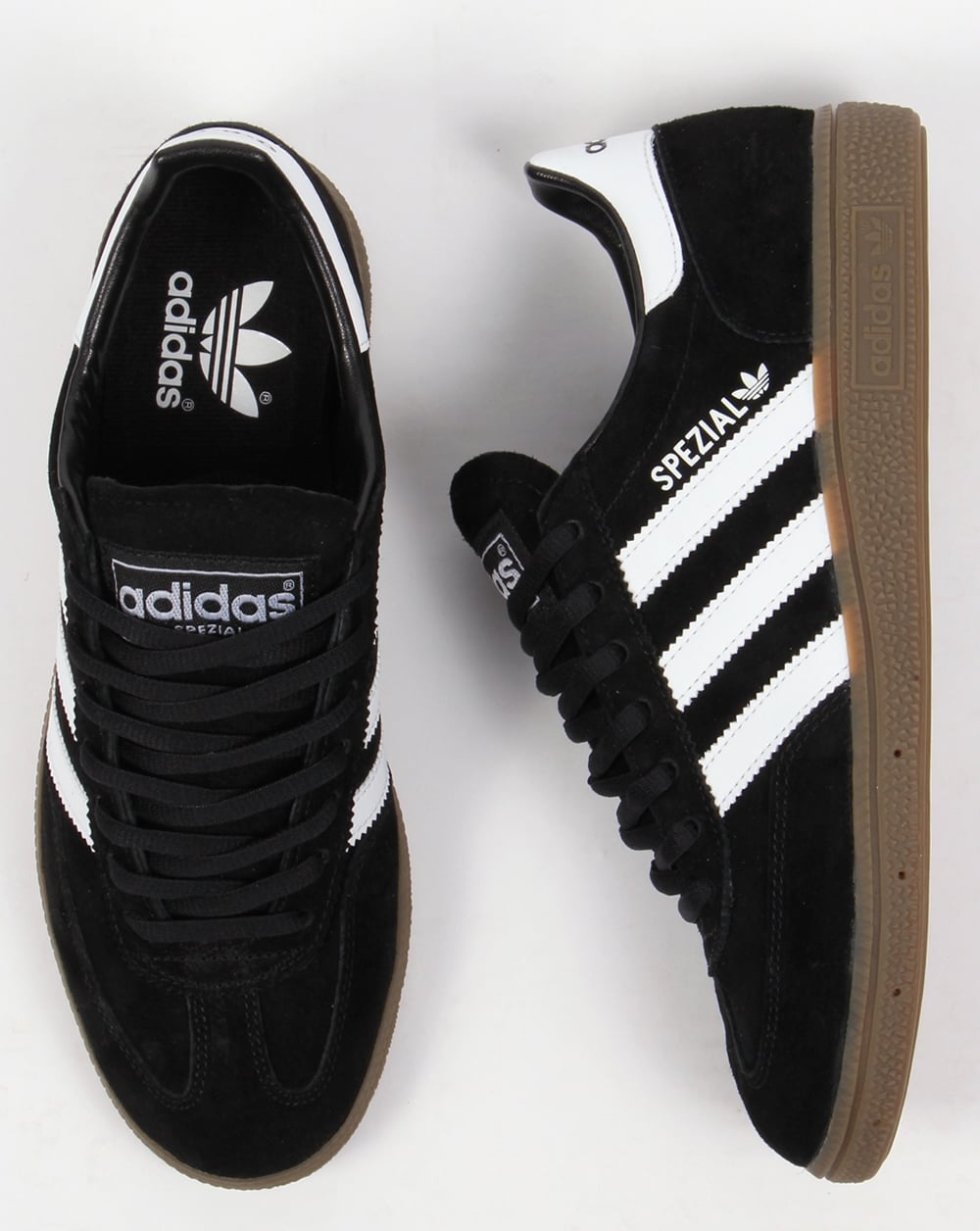 mens adidas trainers black
